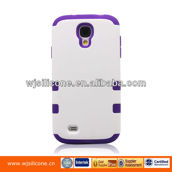 Dual Protection Mobile Phone Armor Case for Samsung S4