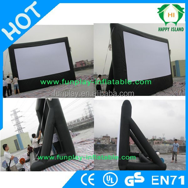 HI Best seles outdoor rear projection screen,inflatable screens for sale,inflatable big screen