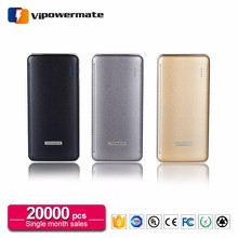 Top selling high quality silvercrest power bank 12000mah cross wst with ce rohs