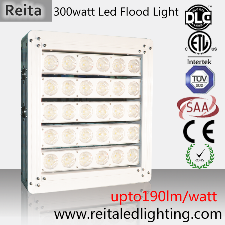 300W pier LED lighting for military facilities