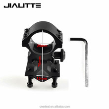 "Jialitte High Scope Mount Tactical Flashlight 25.4mm 1"" Ring Holder Paintball Combat Hunting Rifle Light Laser Light Base J088"