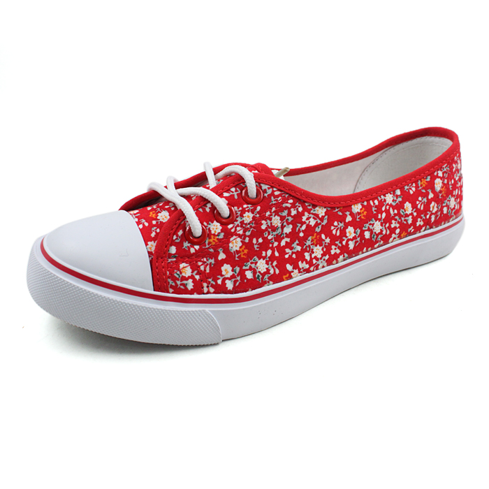 cotton print canvas shoes women shoes