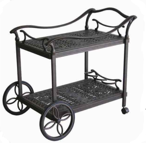 Useful import furniture for entertaining home restaurant outdoor dinner party food serving cart