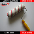 high density paint roller brush with no cap end