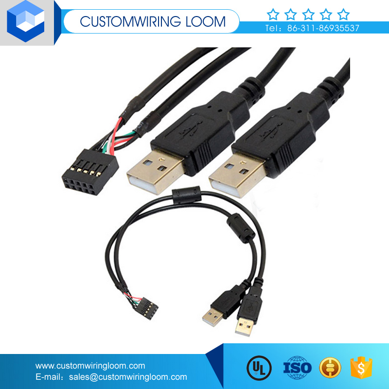 usb cables with usb af to rj11 adapter