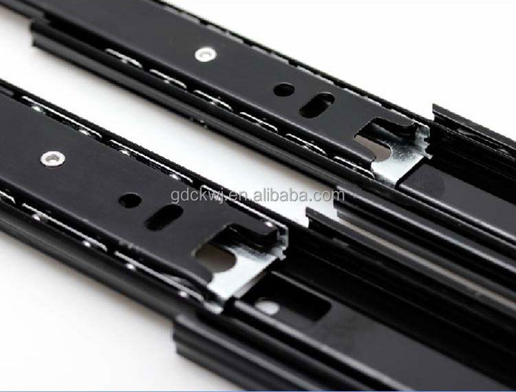 cheap price kitchen cabinet ball bearing drawer slides telescopic drawer sliding channel