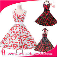 Vintage Prom Dress CHERRY COUNTRY ROCKABILLY SINGER DRESS Made In Fujian
