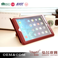 2015 Credit cards slots for ipad Air Tablet case business gift
