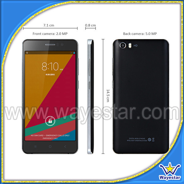 Instock - Dual core 5 inch Android 4.4.2 Smart M5 Cell Phone