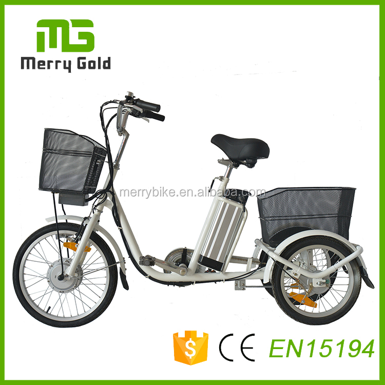 Cheap Price steel 3 wheel Electric Tricycle for adults with lithium battery