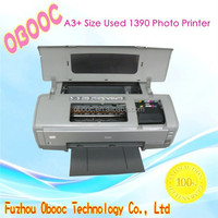 Supply A3+ Size Used 1390 Photo Printer Change Into Flatbed Printer