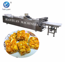 Peanut Candy Bar Cutting Machine/cereal Fruit Nut Bar Production Line