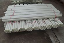 FRP Round Tube GRP Fiber Glass Round Tube, Colored Fiber Glass Rods and Tubes