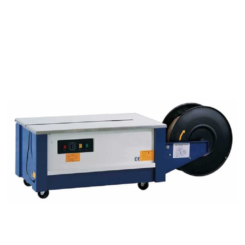Semi-auto poly strapping/portable strapping machine