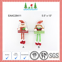 Christmas tree decoration of christmas plush elf