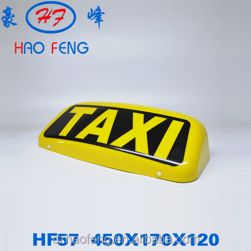 car advertising lamps plastic lighting box signs LED lighting