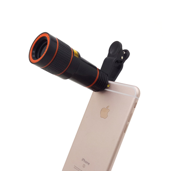 Hot selling portable mini Android IOS universal 4 in 1 zoom camera 12X telephoto lens kit for beginner
