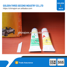 Silicone transparent repair acrylic glue for inflatable pvc boat, water and heat resistant glue