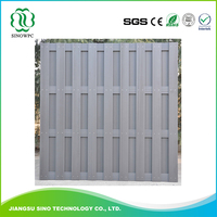 Outdoor Wood Plastic Composite Wpc Furniture Fence Board