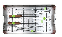 surgical operation medical orthopedic equipment instrument set for pelvic reconstruction plates