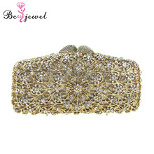 Guangzhou Factory Rhinestone Evening Clutch Bag Wholesale Party Clutches and Purses Crystal Hand bag