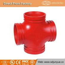 Hot Sale In USA Market Weight Of Equal Cross Cast Iron Pipe Fittings