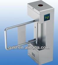 Mechanical and electric locking swing gates