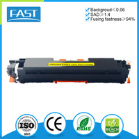 Compatible laser printer yellow toner cartridge CE312A for HP M275FP 1025NW