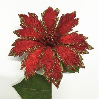 Artificial Christmas flower Giant Poinsettia