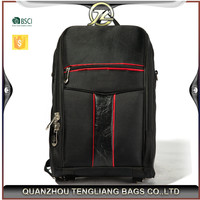 China supplier high quality polyester free sample laptop bag backpack