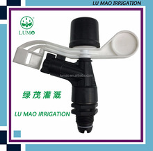 High Pressure Cleaning Plastic Water Jet Spray Nozzle 1/2 Inch Full Circle Plastic Impact Sprinkler