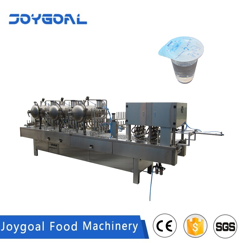 JOYGOAL mineral water cup filling and sealing machine