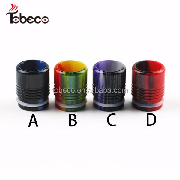 Alibaba express new arrival TFV8 Epoxy Resin drip tip hot selling TFV8 baby 510 drip tip with fast delivery