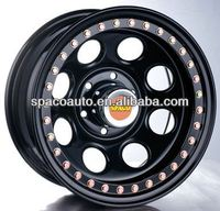 off-road 5x114.3 car steel wheels with high quality