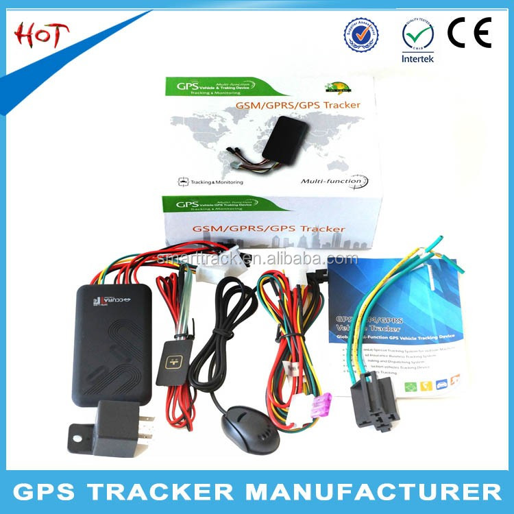 Anti theft system gps car tracker wholesale gt06 hidden mini mobile phone call tracking device