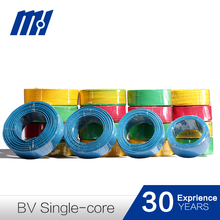 CE flexible building electrical wires housing wires ,factory supply LV BVR/BV/RV/BVV/RVV
