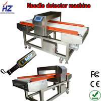 Intelligent high sensitivity and high reliable full touch screen metal detector HZ-F500QD for food industry