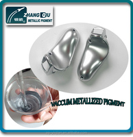 silver chrome coating mirror effect pigment