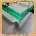 6mm-12mm polishing edge and rough grinding edge tempered glass panel laminated glass with CE,CCC certifications