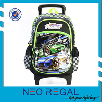 New Active Trolley School Bag for Boys