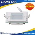 new product in China 12w dimmable square flat led panel ceiling lighting