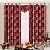 2014 china wholesale ready made curtain,single color string curtain