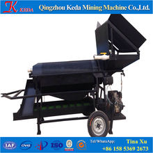 China Small Gold Washing Machine/Mobile Gold Washing Trommel