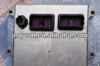ECU control panel for excavator engine