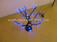 decorative led tree flower lights / christmas led flower blossom tree light