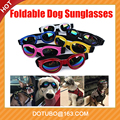 Summer Multi-Color Pet Dog Cat UV Protective Foldable Water-Proof Sunglasses Lenses Eye Wear Protection with Adjustable Strap