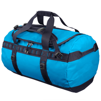 Wholesale high quality waterproof round tarpaulin sport gym duffle travel bags