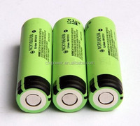 3.7V 3400mAh Li-ion Battery 18650 Battery NCR18650B