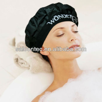 Heat condition cap Microwave heat curling cap