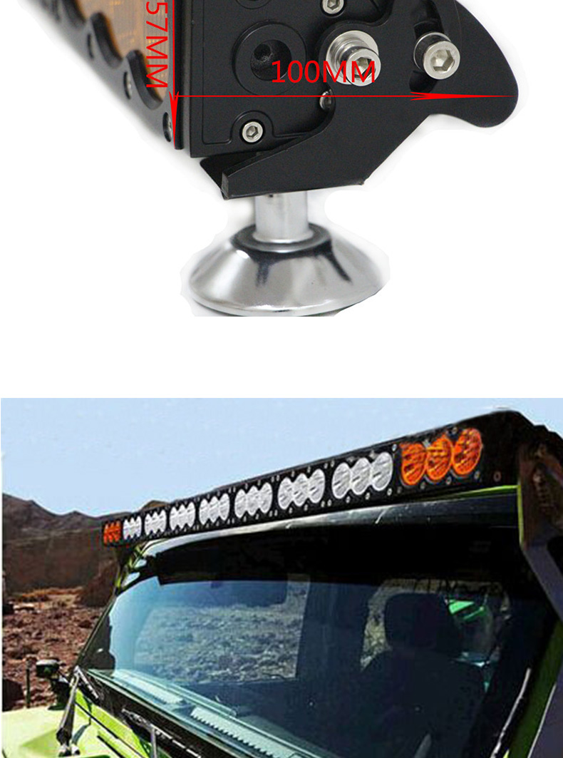 jeep wrangler hood powerful light bar